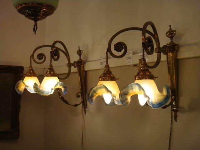 Lighting at Mahlah's Antiques in Johannesburg